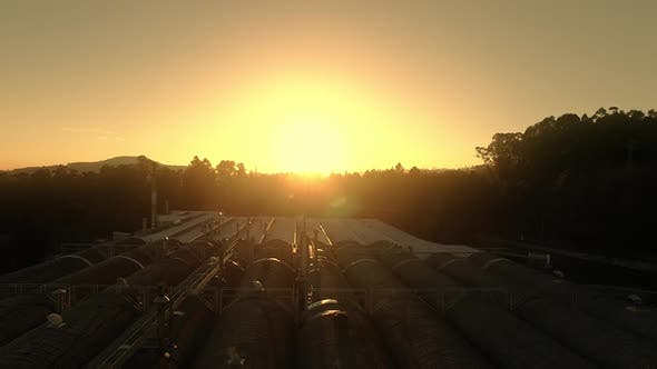 Thumbnail for Chimney Industrial Sunrise
