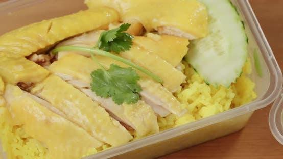 Thumbnail for Hainanese chicken rice
