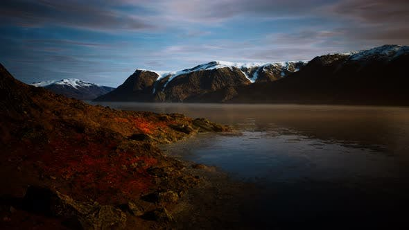 Thumbnail for Mountains and Fjords at Norway Landscape