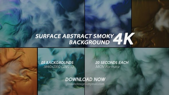Thumbnail for Surface Abstract Smoky Background 4K