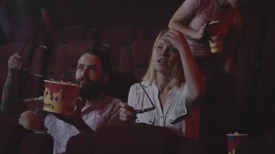 Thumbnail for Audience Sitting Down in Cinema