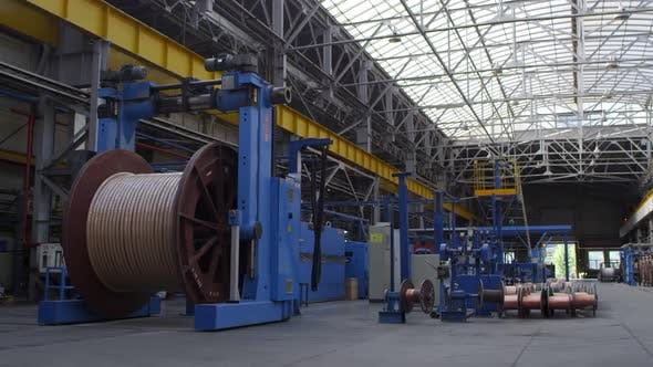 Thumbnail for Producing of Cables at the Plant