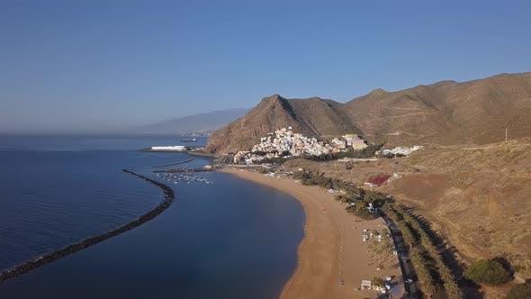 Thumbnail for Aerial of Playa De Las Teresitas Beach, Tenerife