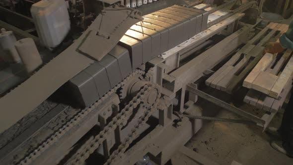 Thumbnail for Bricks on a conveyor belt