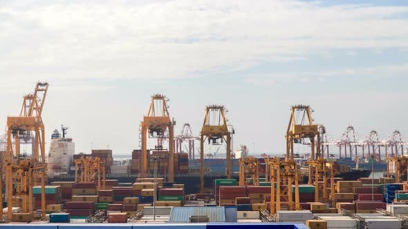 Thumbnail for Container Cranes in Port, Colombo, Sri Lanka