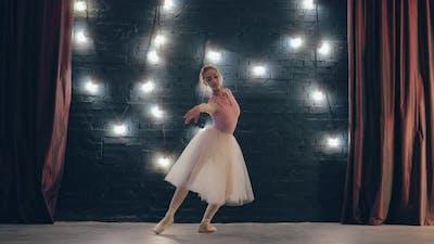 Beautiful Ballet Movements Attitude Turns