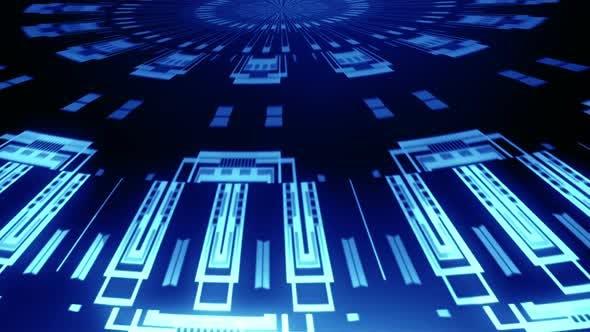 Thumbnail for Radial Tech Circle Rays 01