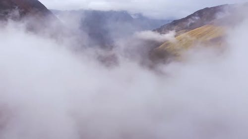 View Of The Valley From Above The Clouds
