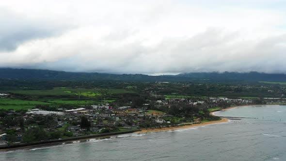 Thumbnail for Cloudy Landscape Of Kauai Hawaii City