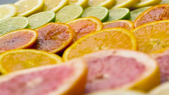 Thumbnail for Close Up of Grapefruit, Orange, Lemon and Lime