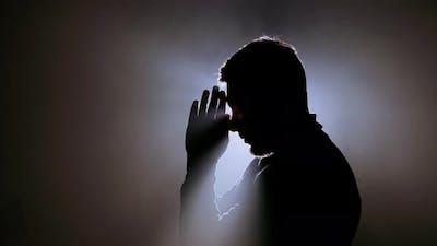 Young Male Praying