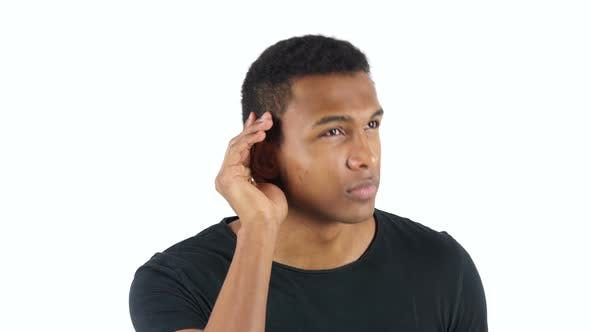 Cover Image for Black Man Listening Carefully