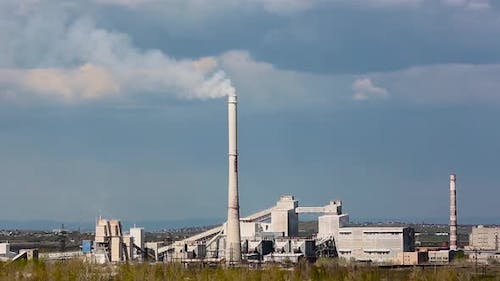 High Chimney of a Chemical Factory