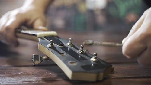Wizard Repairs Musical Instrument Electric Guitar