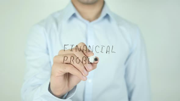 Thumbnail for Financial Problems, Writing On Screen