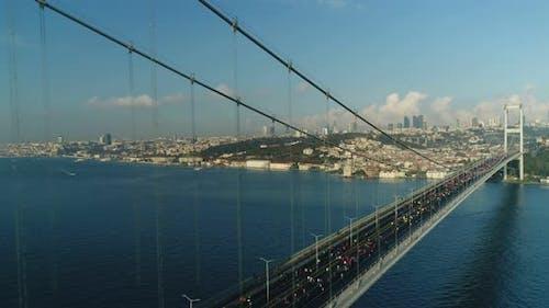 Istanbul Bosphorus Bridge Eurasia Marathon