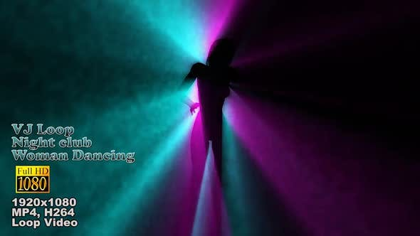Thumbnail for Silhouette Dancing  Laser