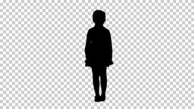 Silhouette  child, Alpha Channel