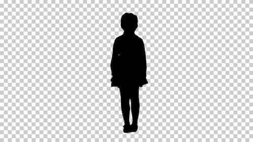 Silhouette Kind, Alpha-Kanal