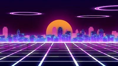 Cyberpunk Background Ver.3