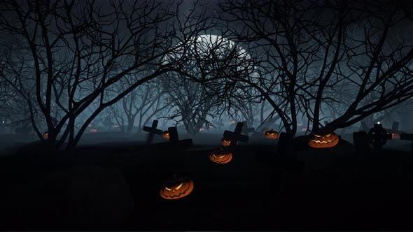 Thumbnail for Halloween Grave 05 4K