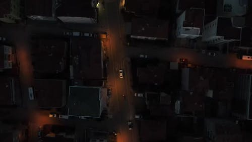 Aerial Drone Nigth Vehicle Tracking