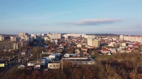 Lviv City. Ukraine. Old European Town City