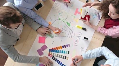 Designers Generating Ideas