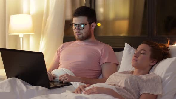 Thumbnail for Man Using Laptop While Girlfriend Is Sleeping 27