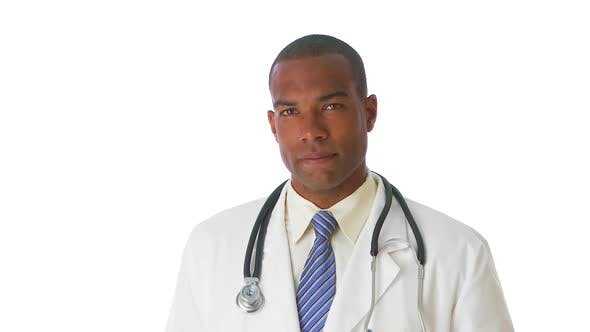 Portrait of medical doctor