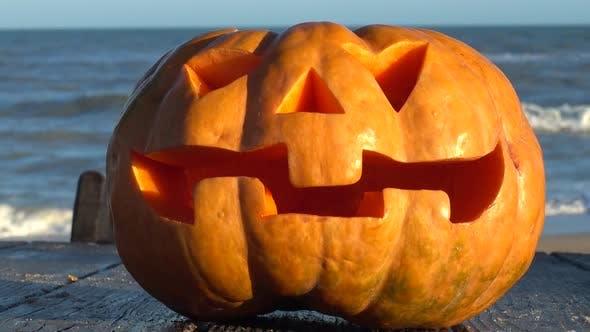 Thumbnail for Spooky Halloween Pumpkin