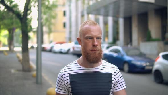 Thumbnail for Caucasian Guy in City
