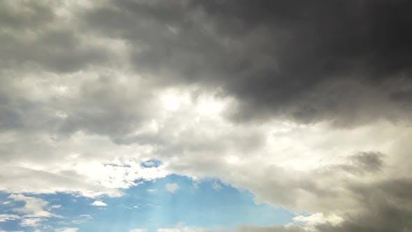Cloudscape Timelapse Dark Cloudy Nature