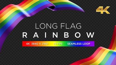 Long Flag Rainbow