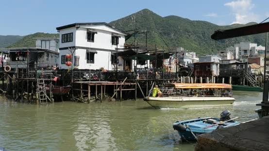 Thumbnail for Fishing village Tai O in Hong Kong