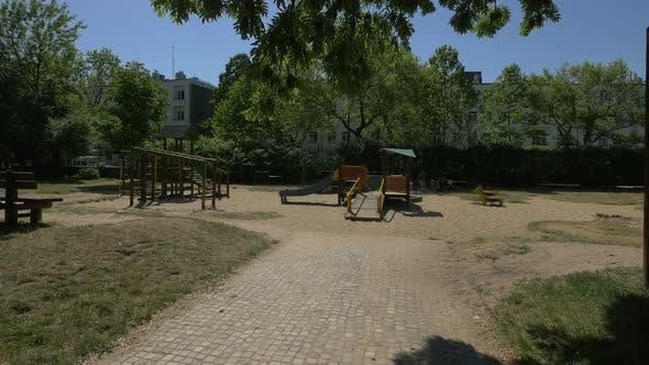 Spielplatz in einem Park