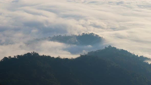 Thumbnail for Beautiful Fog And Mountain