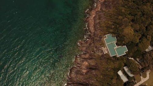 Ocean Sea Wave Aerial