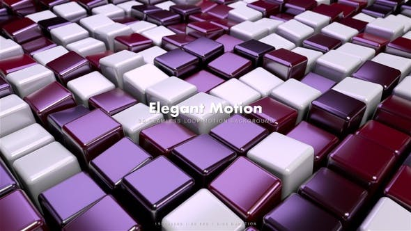 Thumbnail for Elegant Cubes Motion 7