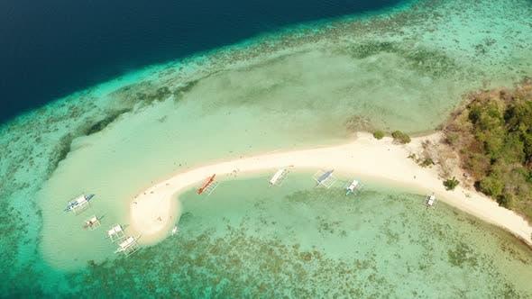 Thumbnail for Tropische Insel mit Sandstrand, Philippinen, Palawan
