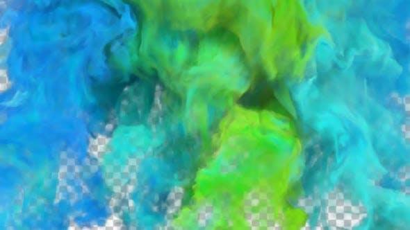 Colorful Smoke Transitions 05