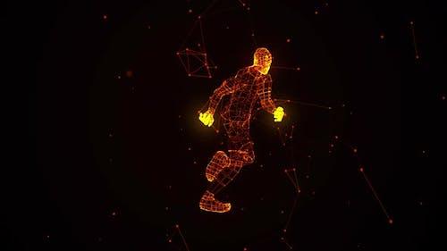 Stardust Running Man 360 Grad Ver. 1
