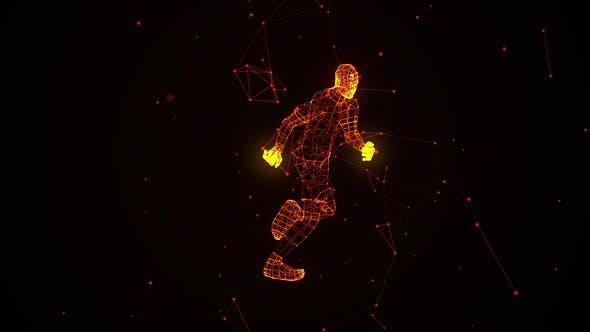 Thumbnail for Stardust Running Man 360 Grad Ver. 1