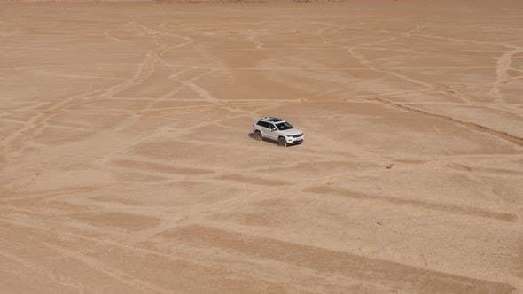 Thumbnail for 4x4 Car On The Desert