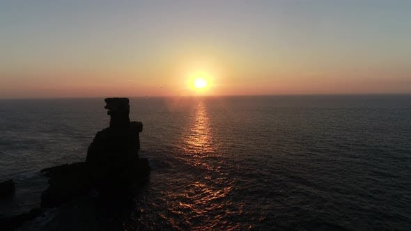 Thumbnail for Breathtaking Sunset Over the Sea