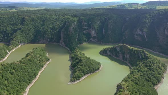 Thumbnail for Meanders at Rocky River Uvac Gorge in Serbia