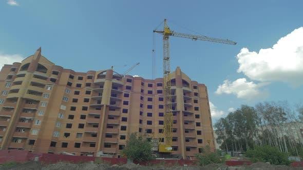 Thumbnail for Apartment building under construction