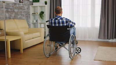 Man with Disability
