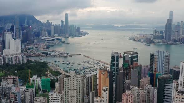 Thumbnail for Hong Kong downtown city
