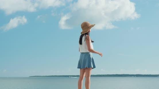 Thumbnail for Woman look at the sea